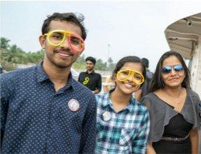 Cochin members at Curv360 celebration